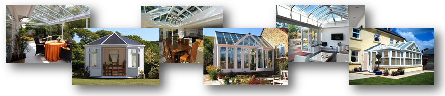 A group of conservatory designs