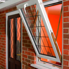 Trickle Vents Used for Ventilating Double Glazed Windows