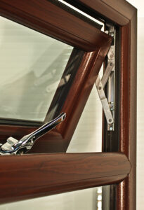 rosewood upvc window no trickle vents
